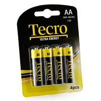 Батарейка TECRO AA R6P-4B UltraEnergy (бл 4 шт.)