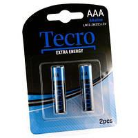 Батарейка TECRO AAA LR03-2B ExtraEnergy (бл 2 шт.)