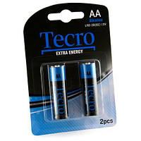 Батарейка TECRO AA LR6-2B ExtraEnergy (бл 2 шт.)