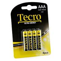 Батарейка TECRO AAA R03P-4B UltraEnergy (бл 4 шт.)
