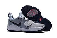 Баскетбольные кроссовки Nike Zoom PG1 grey, фото 1