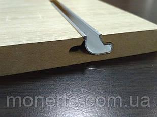 Вставки алюмінієві в економпанель защіпні 2м універсальні
