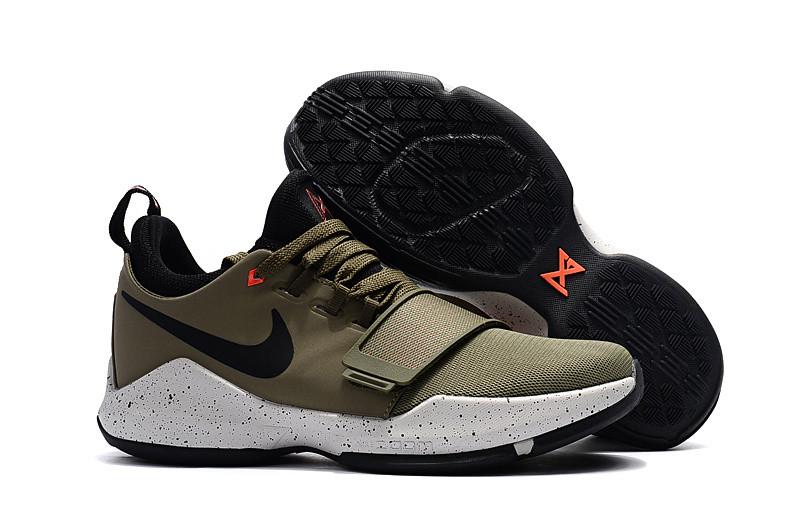 9f8cc390 Баскетбольные кроссовки Nike Zoom PG1 хаки: купить в Днепропетровске ...