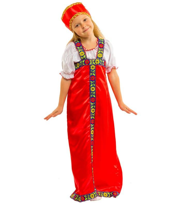 """Детский карнавальный костюм """"Алёнушка"""" для девочки"""