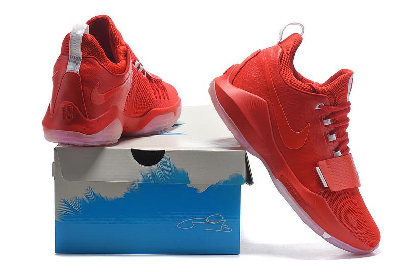 Баскетбольные кроссовки Nike Zoom PG1 red - Интернет магазин обуви  Shoes-Mania в Днепре a6e18bfc1a5
