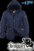 "Куртка мужская зимняя Braggart ""Dress Code"" (синяя)"