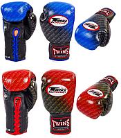 Перчатки боксерские TWINS кожа на шнуровке