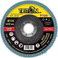 Круг лепестковый тарельчатый TRITON 8040
