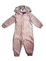Комбинезон-человечек флисовый для девочки, размер  98/104, Lupilu, арт. Л-406, фото 1