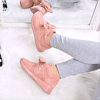 Кроссовки женские Jossy пудра 3598, обувь дропшиппинг