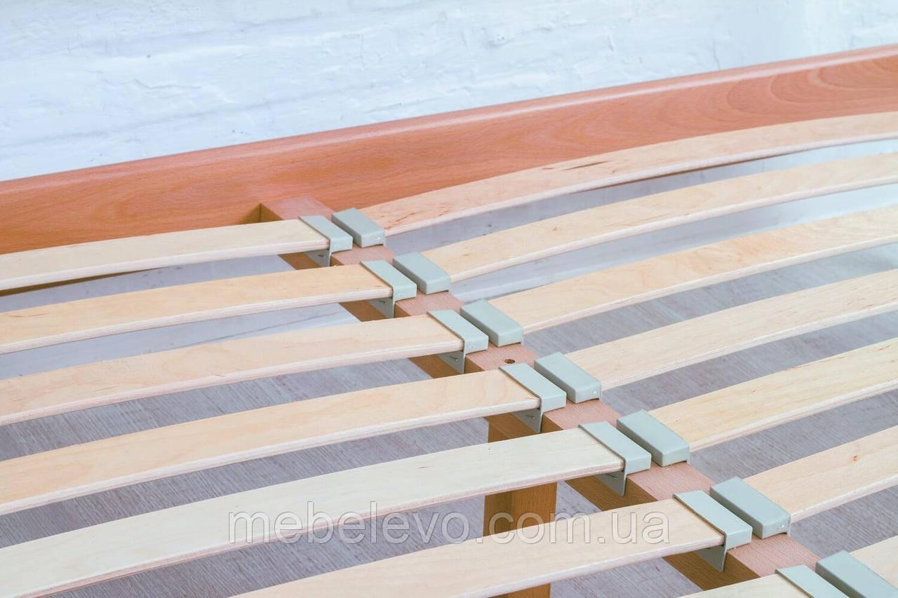 Кровать полуторная Прованс патина квадраты подъемный механизм 140 Олимп - фото 8