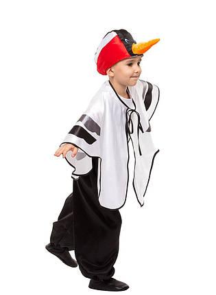 """Детский карнавальный костюм """"Аист-Журавль-Цапля"""" унисекс, фото 2"""