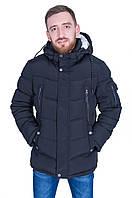 Мужская теплая куртка на зиму Black wolf 9022. Цвет темно синий