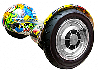 "Гироскутер 10"" Smart Balance BM (хип-хоп, пламя, графитти, молния)"