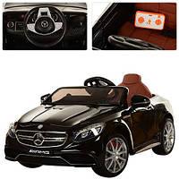 Детский электромобиль Mercedes AMG M 2797 EBLRS-2 АВТОПОКРАСКА и кожаносе сиденье - мягкие колеса