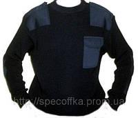 Свитер форменный (мод. Round) черный 7-класс, фото 1