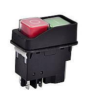 Магнитная кнопка на 4 выхода для бетономешалки  № 01-238