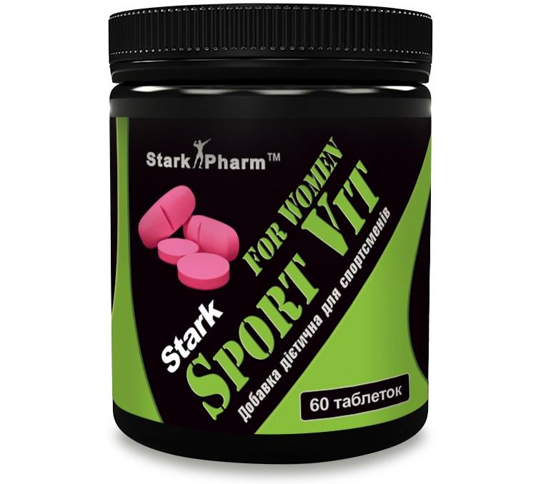 Stark Sport Vit for Women 60 таб (Multivitamins & Minerals) Stark Pharm