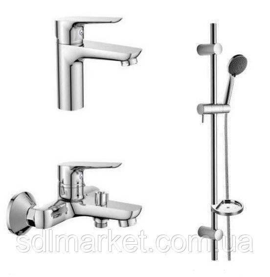 Набор смесителей Imprese Kit 3 в 1 для ванной комнаты