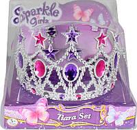 Набор из диадемы и сережек для девочки (звезда) Sparkle girlz Funville (FV75028-1)