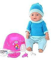 Пупс кукла Baby Born Бейби Борн BB 8001-F (Зима)