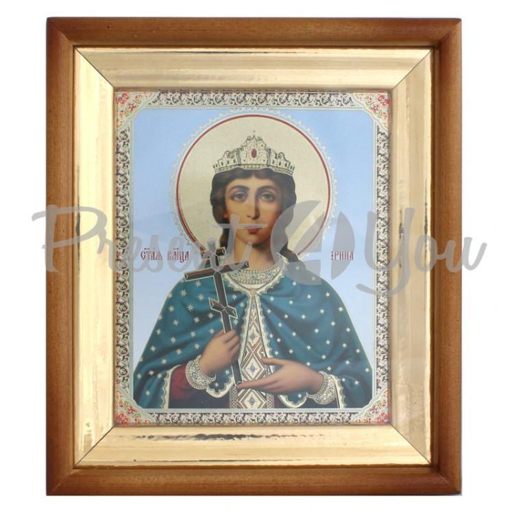 Икона Святая Ирина, 23х20х3см