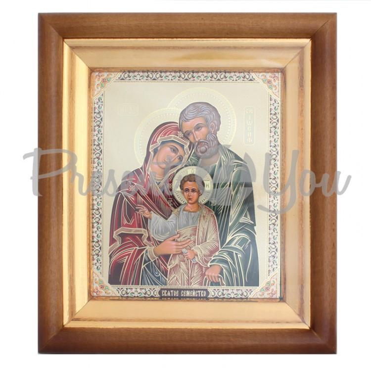 Икона «Святая семья», 24х21х4 см
