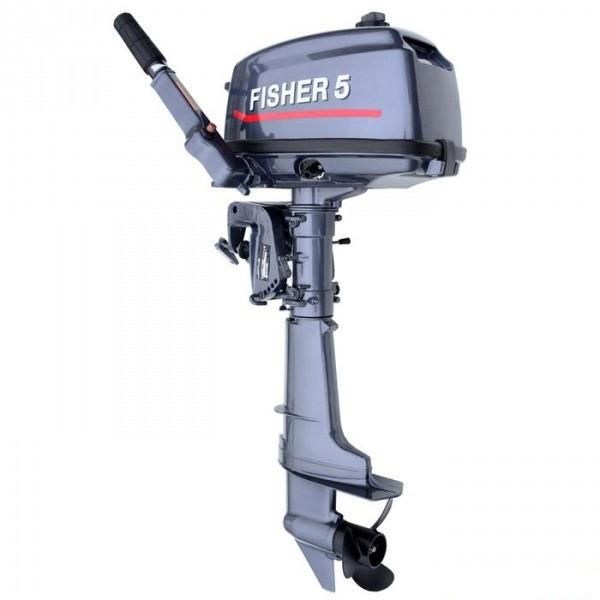 Fisher T 5 BMS лодочный мотор двухтактный