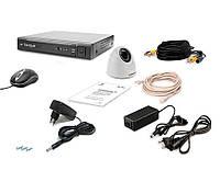 Комплект видеонаблюдения Tecsar AHD 1OUT-2M-AUDIO DOME, фото 1