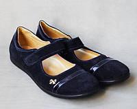 36р - 23см босоножки туфли на девочку замшевые кожа Украина Львов