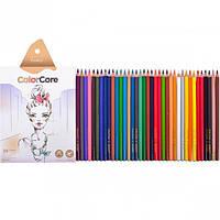 "Карандаши цветные ""Marco Color Core"" 36 цветов."