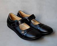 37р - 23, 5см босоножки туфли на девочку Кожа Украина Львов
