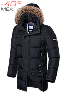 """Куртка мужская зимняя Braggart """"Dress Code"""" (чёрная)"""