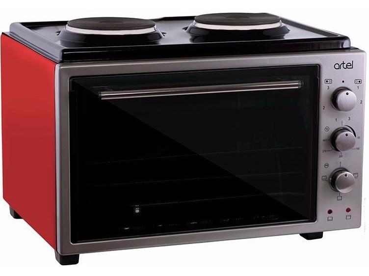 Печь электрическая духовка Artel MD-3614 красная