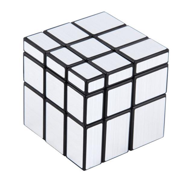 Зеркальный кубик Рубика 3x3x3 QiYi MoFangGe (Серебро)