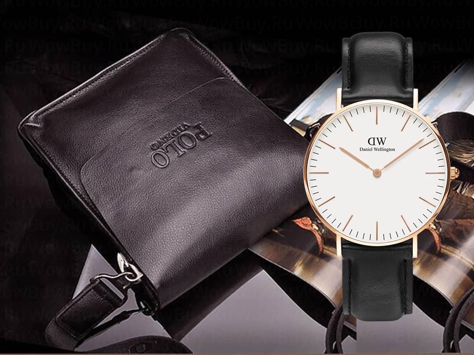 da8f84fb276f АКЦИЯ!!! Мужская сумка Polo Videng+час в Подарок! из Китая высокого ...