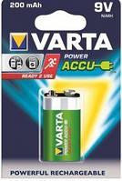 Аккумулятор крона varta rechargeable accu 6f22 9v 200 mah (56722101401)