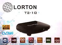 DVB-T2 телевизионный тюнер LORTON T2-10 HD+IR
