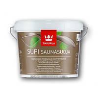 Защитный состав для бани Tikkurila Supi Saunasuoja Тиккурила Супи Саунасуоя, 2,7 л