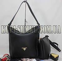 Женская брендовая сумка+клатч (комплект)