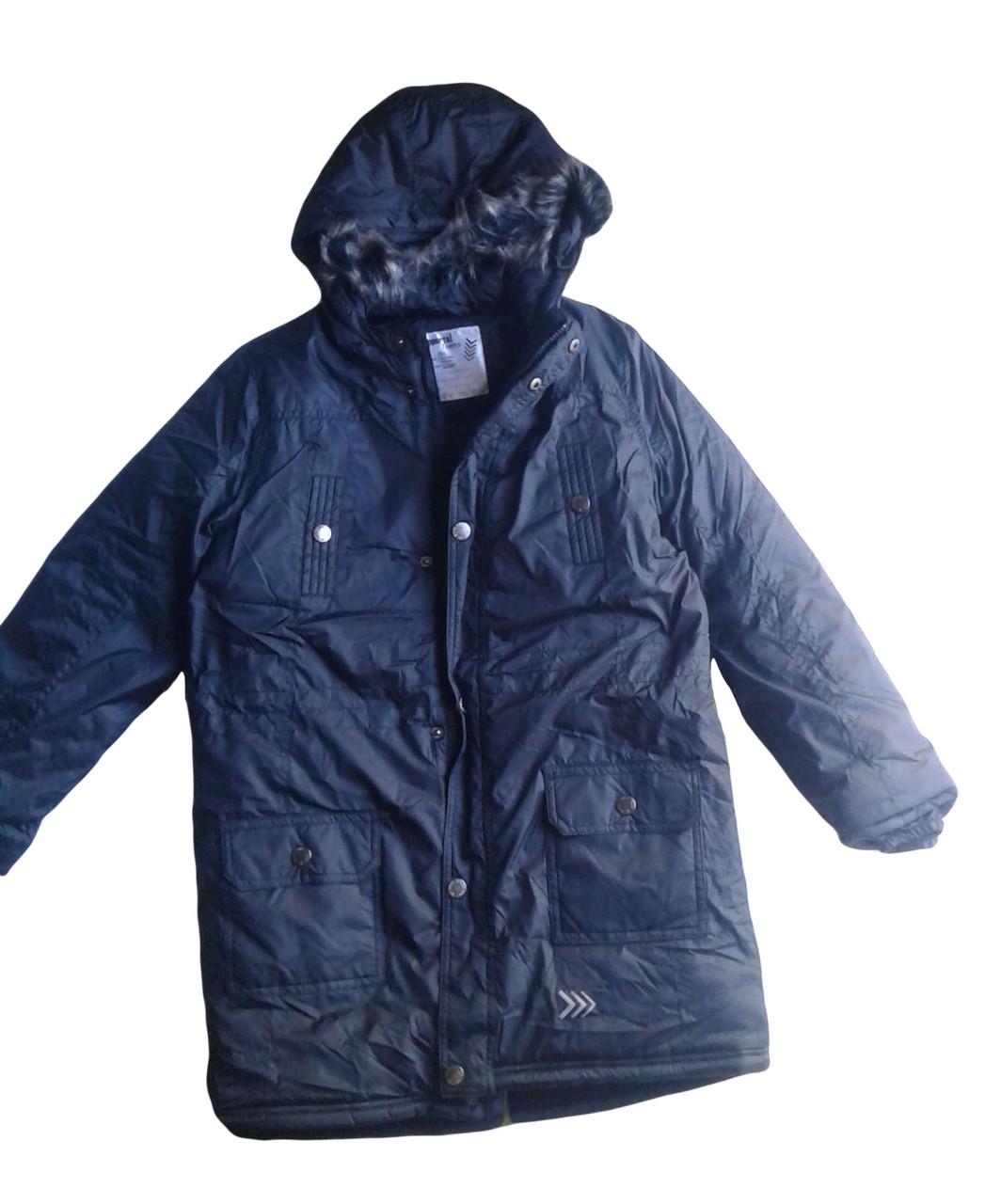 Куртка-пальто на флисе подростковая, Pepperts, размер 152, арт. Л-420