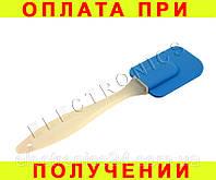 Силиконовая лопатка (синяя)