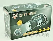 Фонарь BW-6870 (сеть + солнечная батарея), фото 3