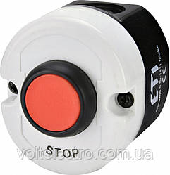 Кнопочный пост ESE1-V2  одна кнопка STOP