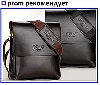 АКЦИЯ!!! Мужская сумка через плечо Polo Videng+ Подарок