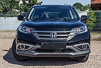 Рамки противотуманок с лед огнями Honda CR-V 12W