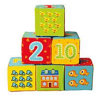 Набор мягких кубиков Цифры Vladi Toys VT 1401-04