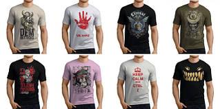 Мужские футболки, безрукавки, борцовки