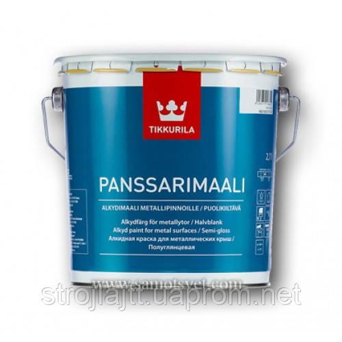 Краска Tikkurila Panssarimaali Тиккурила Панссаримаали, база С 9л