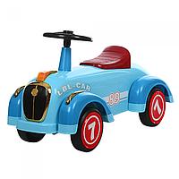 Детская каталка-толокар 8209-4, ретро-машина